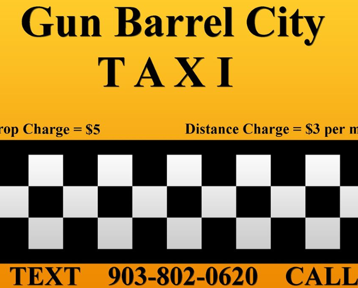 Gun Barrel City Taxi