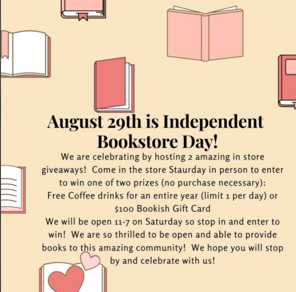 Independent Bookstore Day at Bookish 9 Independent bookstore day On The Lake Living