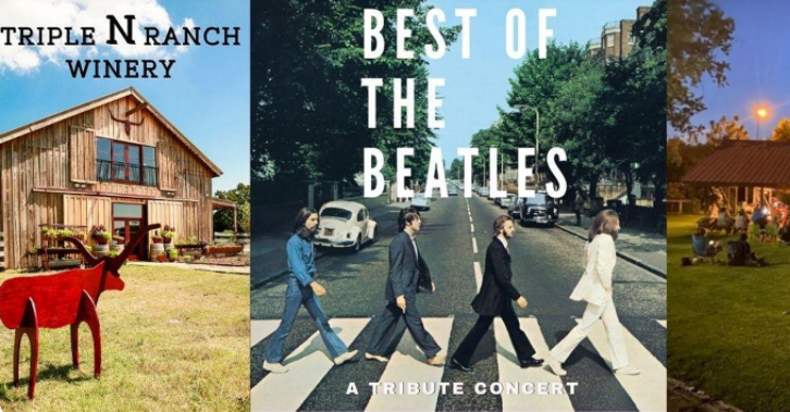 A Hard Days Night: An evening of the Best of the Beatles at NNN Winery!! 9 triple N best of beatles On The Lake Living