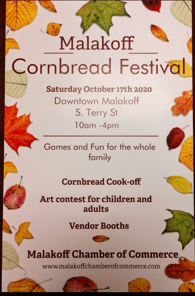Malakoff To Host Cornbread, 1 Charity Event & Professionally Judged Fine Art Contest 3 120949477 10218340815694092 2469115016144804389 o On The Lake Living
