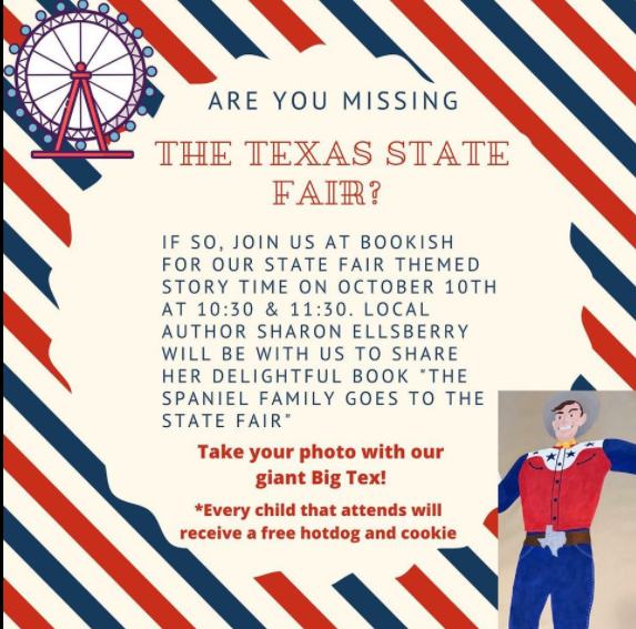 Missing The Texas State Fair? 9 bookish state fair On The Lake Living
