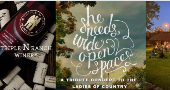 Wide open Spaces: A NNN tribute concert to the Ladies of Country 9 wude open spaces triple n On The Lake Living